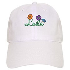 Laila Flowers Baseball Cap