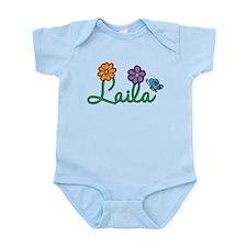 Laila Flowers Infant Bodysuit