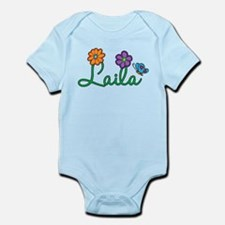 Laila Flowers Infant Bodysuit