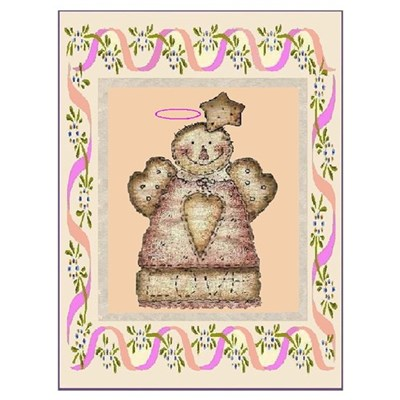 GUARDIAN COUNTRY ANGEL Framed Print
