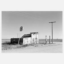Abandoned Texaco Station, 1937