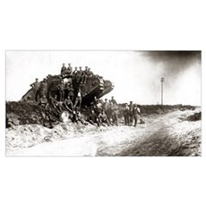 WWI Western Front Canvas Art