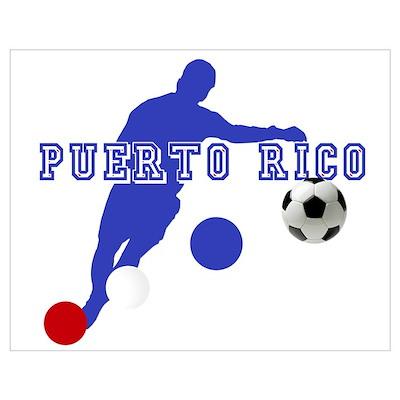 Puerto Rico soccer futbol Poster