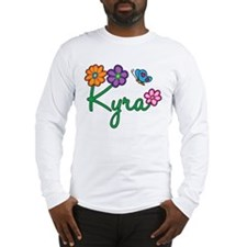 Kyra Flowers Long Sleeve T-Shirt