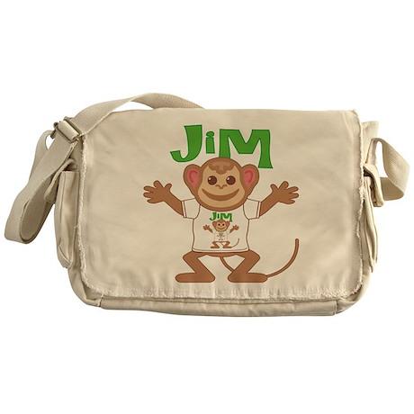 Little Monkey Jim Messenger Bag