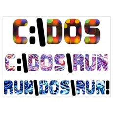 C:\DOS\RUN Canvas Art
