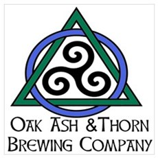 Oak Ash Thorn Brewing Company Poster