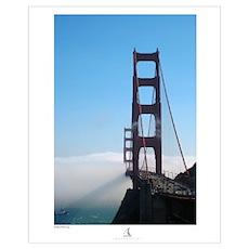 """Golden Gate Fog - 11""""x17"""" Poster"""