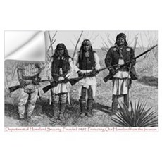 Native Homeland Security Wall Decal