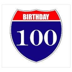 100th Birthday! Poster