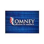 Romney Rectangle Magnet