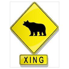 Bear XING Poster