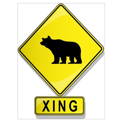 Bear XING Canvas Art