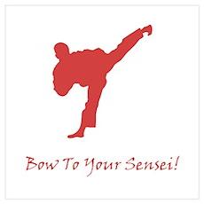 Bow To Your Sensei! Poster
