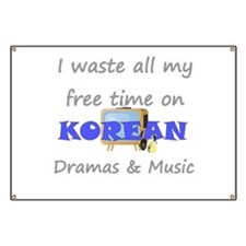 I waste all my time on Korean Banner
