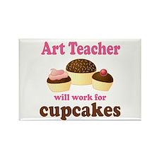 Funny Art Teacher Rectangle Magnet