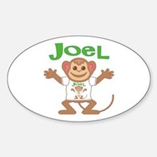 Little Monkey Joel Decal