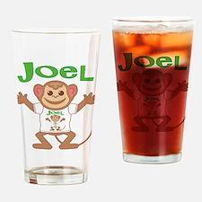 Little Monkey Joel Drinking Glass