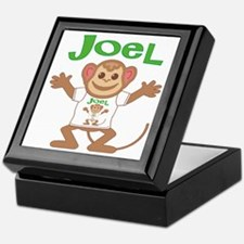 Little Monkey Joel Keepsake Box
