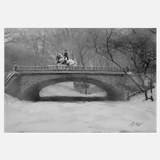 Dressage Horse, Winter Piroue 16x20