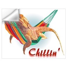Bearded Dragon Chillin Wall Decal