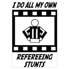 Refereeing Stunts Canvas Art