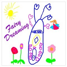 Fairy Dreaming Poster