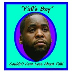 """Y'all's Boy"" Poster"