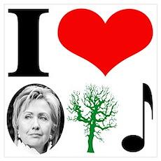 anti Hillary 2008 Poster