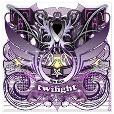 Twilight Royal Media Mix Crest Poster