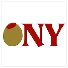 Olive (I Love) NY Poster