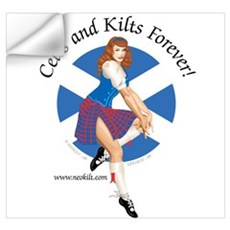 Scott Pin Up Girl Wall Decal