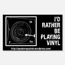 Cute Vinyl records Decal
