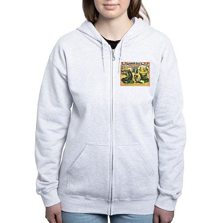 Marvelously Educated Sea Lions Women's Zip Hoodie