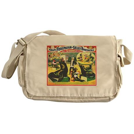 Marvelously Educated Sea Lions Messenger Bag