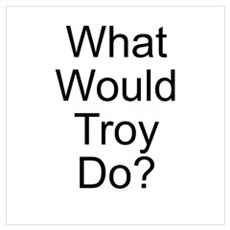 What Would Troy Do? Poster