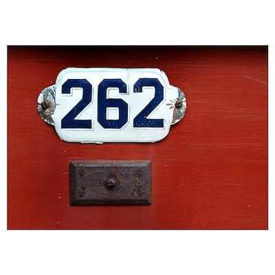 Door 262 Poster