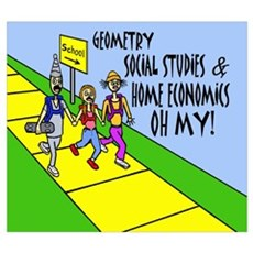 GEOMETRY SOCIAL STUDES HOME E Poster