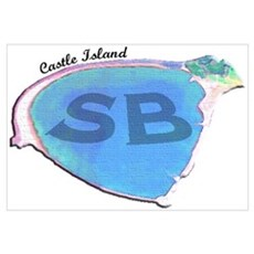 Castle Island SB Canvas Art