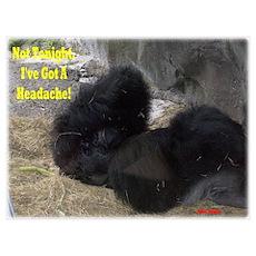 I'VE GOT A HEADACHE Poster