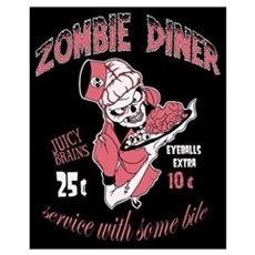 zombie diner Poster