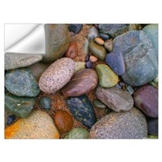 Beach Stones Wall Decal