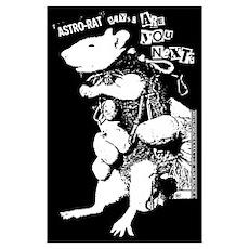 Astro Rat Poster