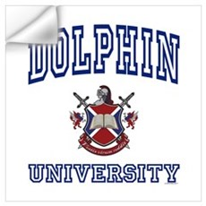 DOLPHIN University Wall Decal