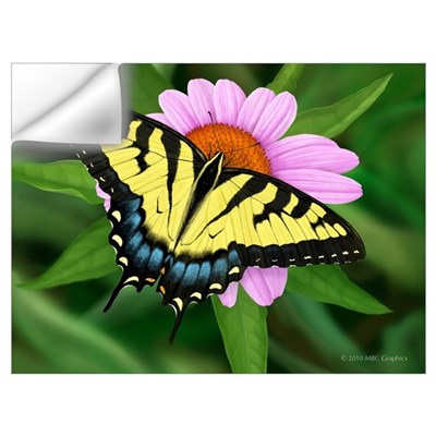 Tiger Swallowtail Wall Decal