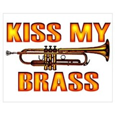 Kiss My Brass Canvas Art