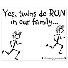 Yes, Twins do RUN in the Fami Poster