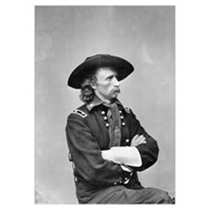 Major General Custer Poster