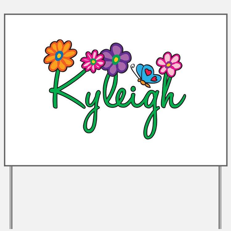 Kyleigh Flowers Yard Sign