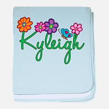 Kyleigh Flowers baby blanket